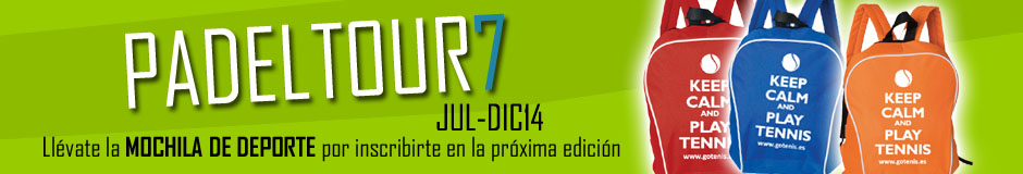 Inscribete en padeltour 2014